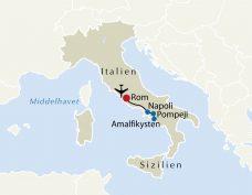 Rom Napoli Amalfikysten Og Pompeji Tss Travel Dk